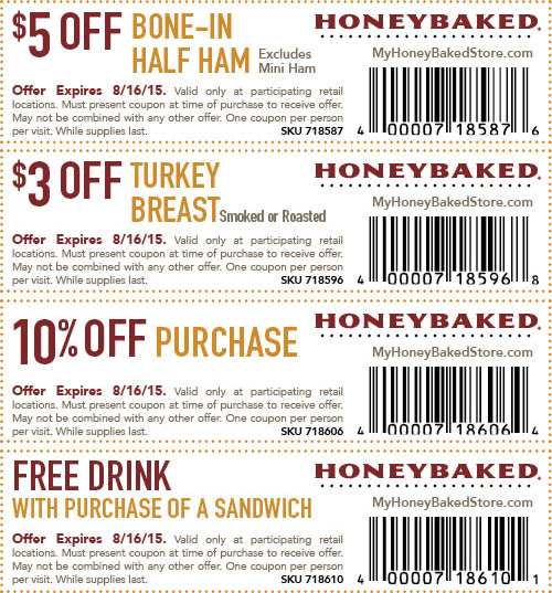 Honeybaked Ham Coupons 2020 Printable.Honey Baked Ham Online And In Store Coupons Promotions