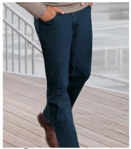 Traveler Denim Tailored Fit Jeans