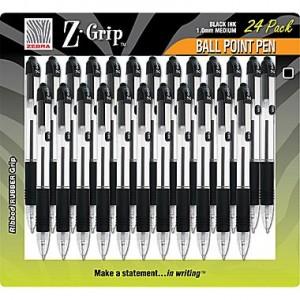 Zebra Z-Grip Retractable Ballpoint Pen 24-pack Sale