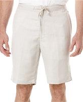 cubavera-linen-blend-drawstring-shorts
