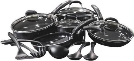 picture of Cuisinart 15-piece Ceramic Cookware Sale