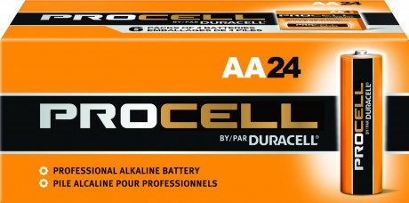 picture of Duracell Procell 24 AA + 24 AAA Batteries Plus Free Batuca Battery Holders Sale