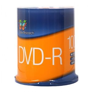 Free 100-Pack of 4.7GB 16x Color Research DVD Media