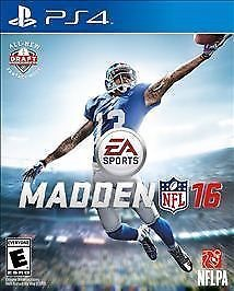 Madden NFL 2016 PS4 Sale