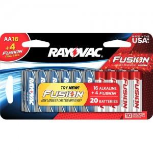 Rayovac AA 20 pack batteries