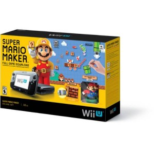 picture of Super Mario Maker Wii U Console, Extra game, Amiibo Sale