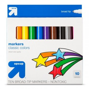 picture of 10-ct Up & Up Broadline Markers Sale