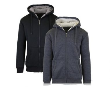 picture of Amazon Prime Members: Sherpa Lined Fleece Hoodies 2-Pack Sale