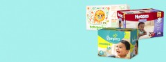 $20 Target Gift Card with 3 Diaper Packs