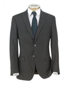 picture of Joseph Slim Fit 2-Button Wool/Cashmere Plain Front Suit