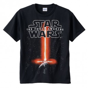 Star Wars The Force Awakens Saber Tees boys