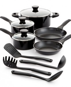 Tools of the Trade Nonstick Aluminum 12 Piece Cookware Set Sale