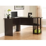 picture of Ameriwood L-Shaped Desk with Side Storage Sale