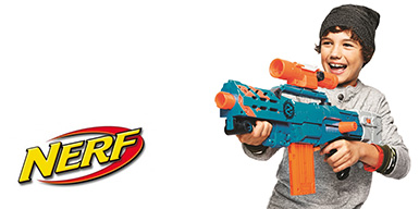 picture of Nerf Toys Buy 2, Get 3rd Free