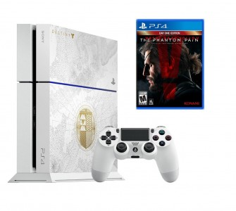 PS4 Destiny Taken King Console Bundle with Metal Gear Solid V Sale