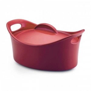 rachael-ray-stoneware-casseroval-425-quart-covered-baking-dish-red_500
