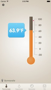 picture of iTunes App Sale: Thermo-Hygrometer