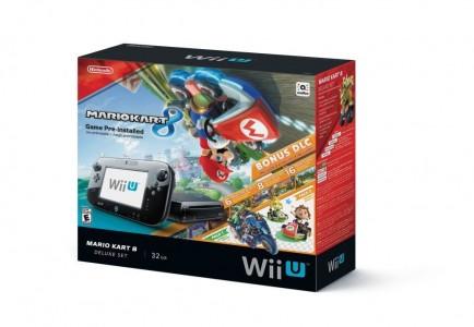 Wii U Mario Kart 32GB Black Deluxe