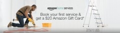 $20 Amazon Gift Card with First Home Service $99 or more