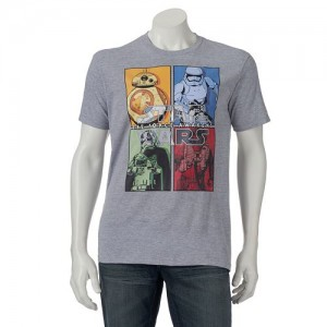 picture of Kohl's 4 for $21 Men's Graphic Tees - Cardholders Only