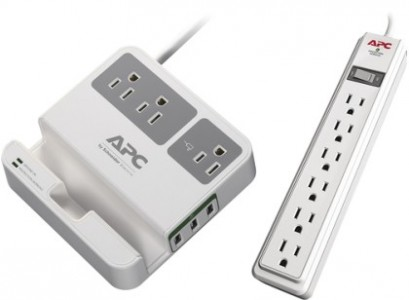 APC SurgeArrest 3-Outlet and 6-Outlet Surge Protector Sale