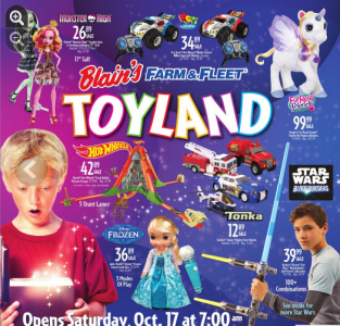 picture of Blain Farm & Fleet Toy Land Holiday Gift Guide