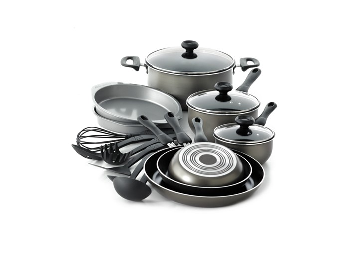 Farberware 17-pc Nonstick Cookware Set Sale $31.99 - BuyVia