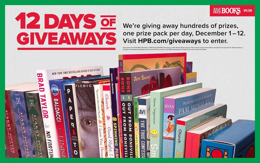 Half Price Books Black Friday 2015 p12