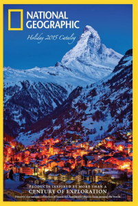 National Geographic Holiday 2015 Catalog