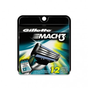 Gillette Mach3 12-ct Base Cartridges Sale