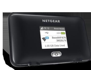 Netgear Fuse 4G LTE No contract mobile router Wi-Fi Boost Mobile