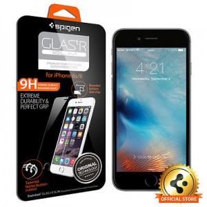 picture of Spigen Tempered Glass Screen Protector iPhone 6s, 6 Sale