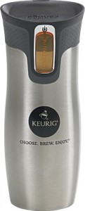 picture of Keurig Silver Stainless Steel Travel Mug Sale