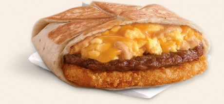 picture of Free A.M. Crunchwrap at Taco Bell