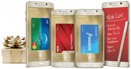 picture of $100 Credit to Samsung.com for activating Samsung Pay