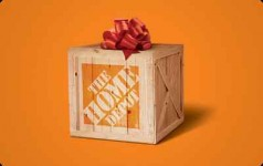 5% off Home Depot Gift Cards, 15% off Sports Authority Gift Cards