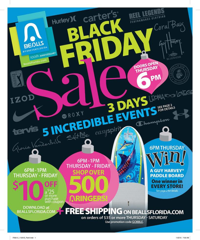 Bealls Florida Black Friday 2015