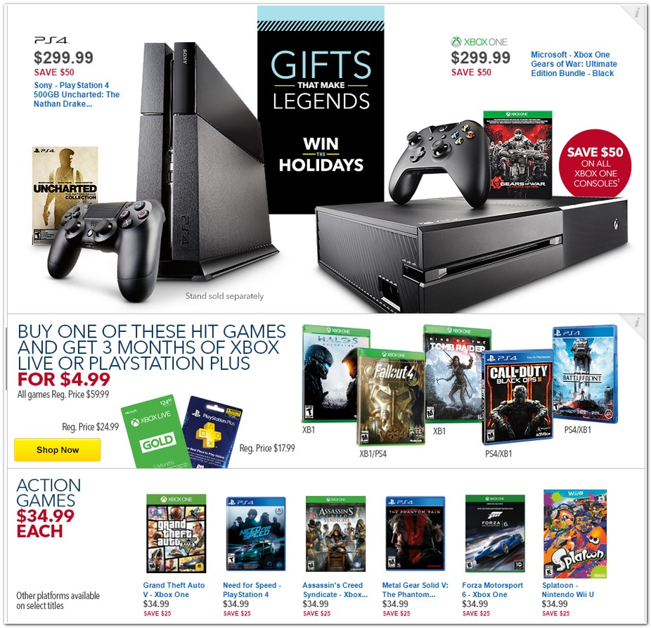 Black Friday 2015 Best Buy Ad Scan Buyvia