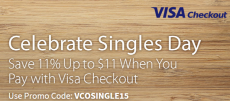 picture of Newegg 11% off with Visa Checkout