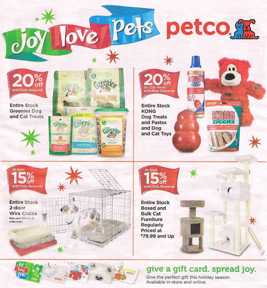 Black Friday 2015: petco Ad Scan - BuyVia