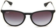 Ray-Ban-Womens-Erika-Round-SunglassesNon-PolarizedBlack-FrameGray-Gradient-Lens54-mm-0-0