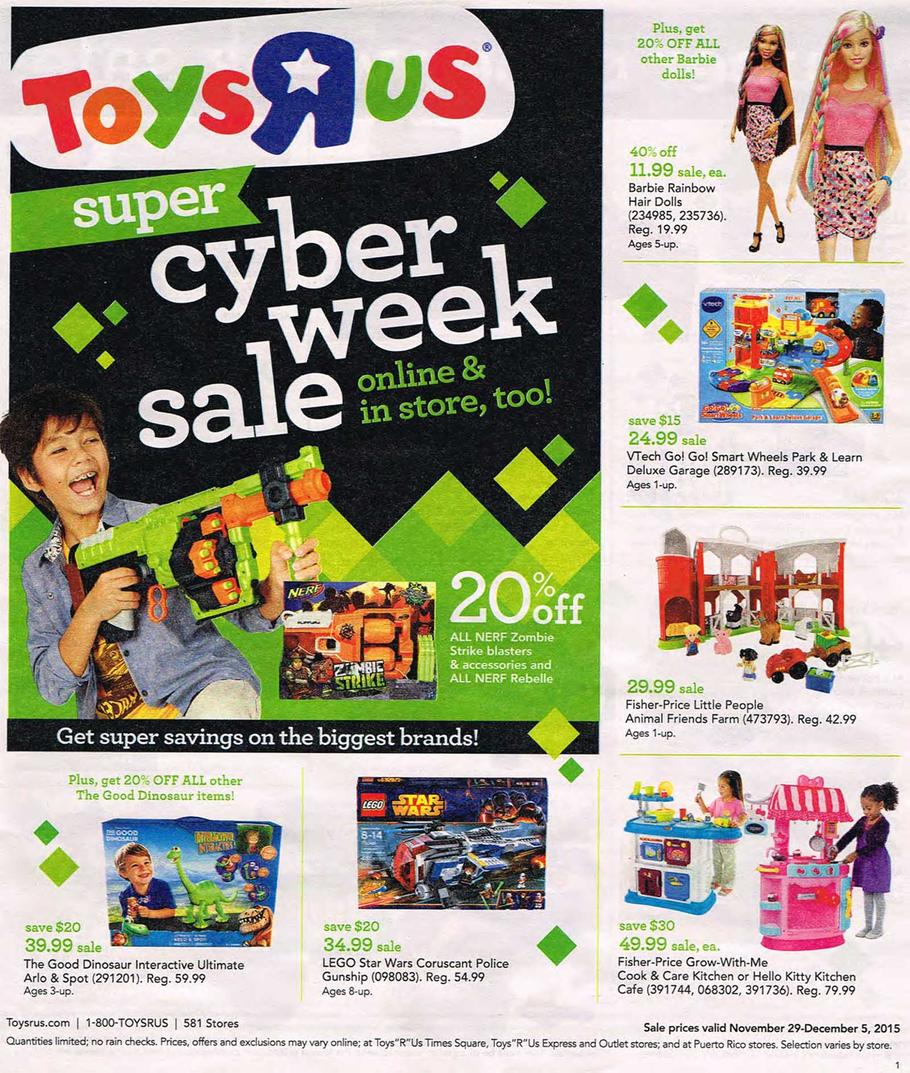 cyber monday 2015 toys r us ad scan buyvia. Black Bedroom Furniture Sets. Home Design Ideas