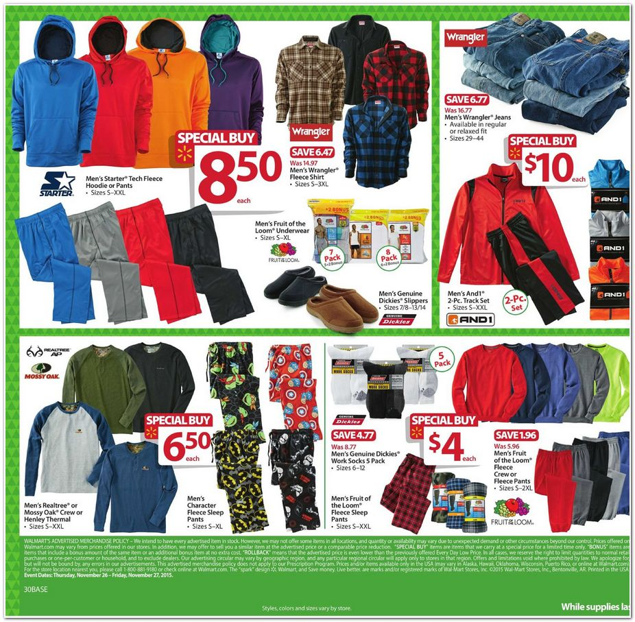 Black Friday 2015 Walmart Ad Scan Buyvia