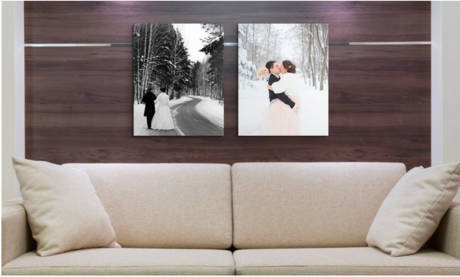 picture of 2 Pack Canvas on Demand 20x16 Custom Prints