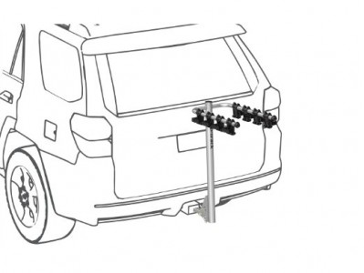 picture of Prorack 4-Bike Hitch Carrier Sale