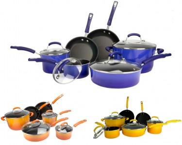 Rachael Ray 10 Piece NonStick Cookware Set Sale