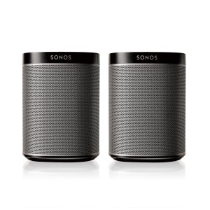 SONOS PLAY:1 Compact Wireless Speaker 2 Pack Sale
