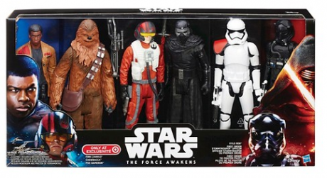 picture of Star Wars The Force Awakens 6 Action Figure Pack