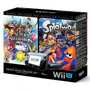 Wii U Super Smash Bros – Splatoon Deluxe Console Sale