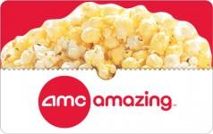 $25 AMC Gift Card + FREE Popcorn Voucher